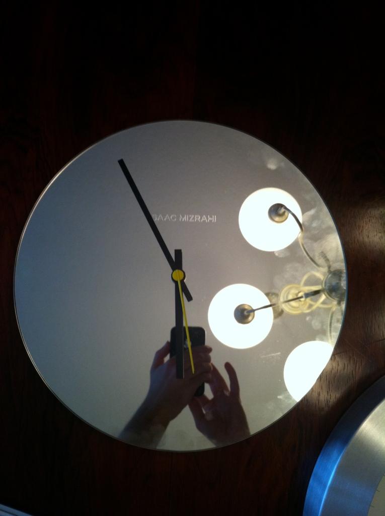 Mirror Clock!